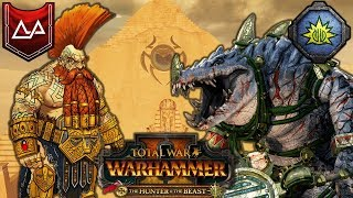 NAKAI the WANDERER and the SLAYER KING - The Hunter and the Beast DLC - Total War Warhammer 2