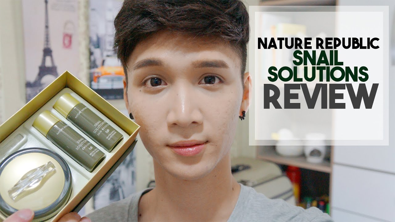 Nature Republic Snail Review