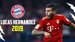 Lucas Hernandez 2018/ 2019● Welcome to Bayern Munich● Crazy Tackels, Speed, Dribbles & Assists|HD