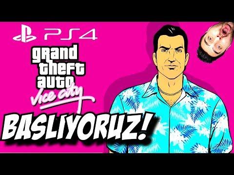 Efsane Başlıyor ! GTA Vice City Ps 4 Türkçe #1
