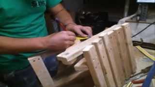 Homemade Folding Chair - Wood Work