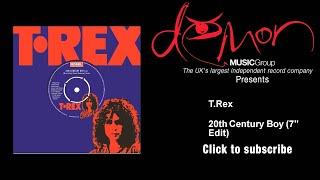 "T.Rex - 20th Century Boy - 7"" Edit"