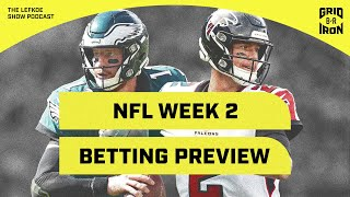 Picking Every Week 2 NFL Game Against The Spread with Warren Sharp   The Lefkoe Show