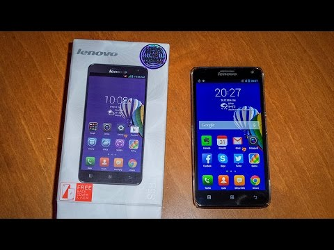 Lenovo S580 Dual SIM UNBOXING video SK