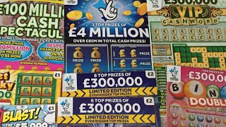 Scratch card💥4 MILLION BLUE 💥LIMITED EDITION💥CASH SPECTACULAR 💥CASH WORD VIP🤞and more😱😱