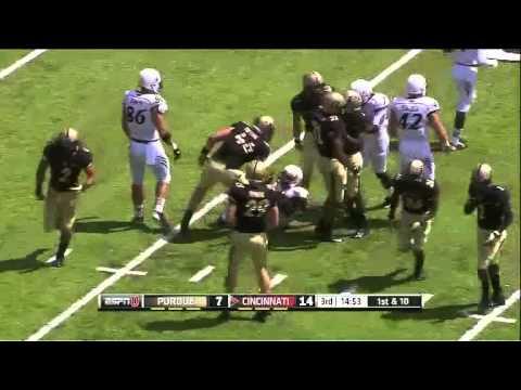 Ralph Abernathy- Cincinnati - HB / KR - 2013 Purdue Game