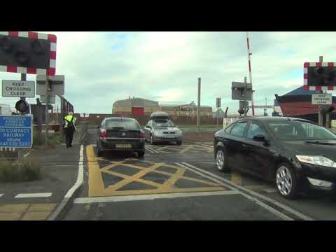 Ardrossan Harbour Level Crossing