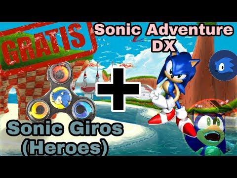 PACK: Sonic Heroes PC Full + Sonic Adventure DX 2017 Windows XP, 7, 8.1, 10