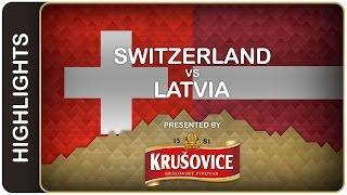No shootout? No problem for Swiss | Switzerland-Latvia HL | #IIHFWorlds 2016