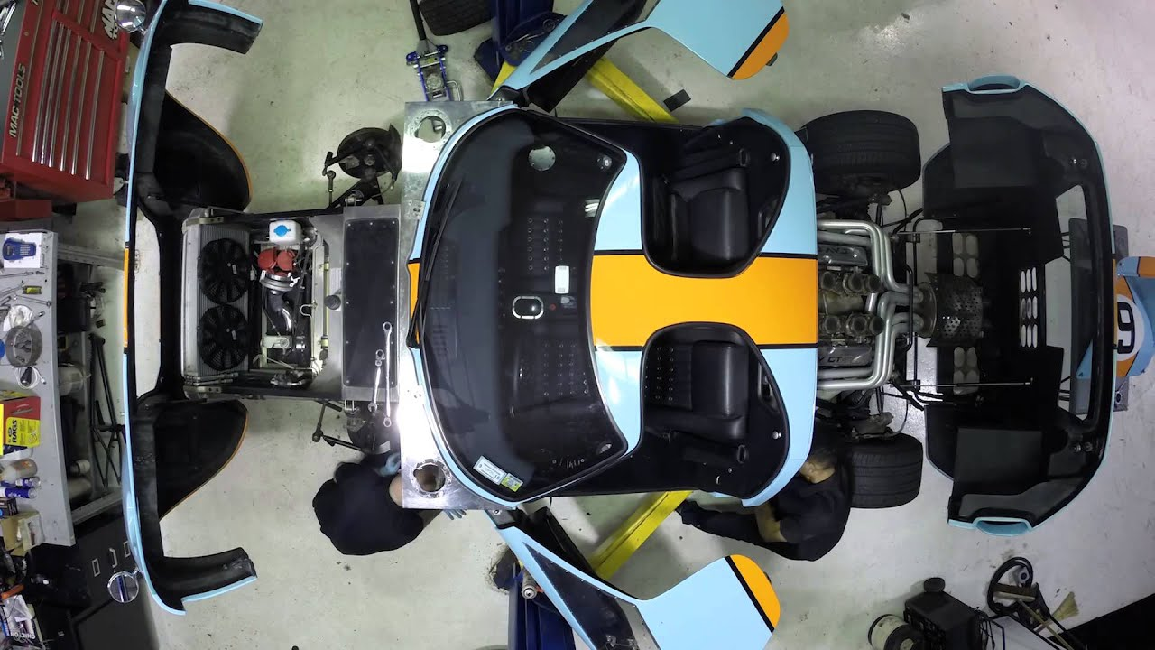 Ford Gt Gas Tank Removal Time Lapse