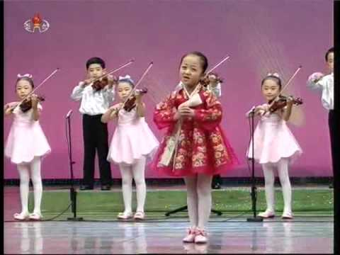 "[Violin, Song] ""The Flower Girl"" {DPRK Music}"