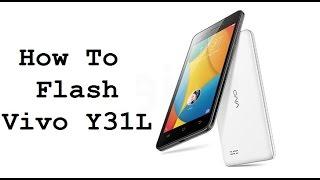 How To Flash Vivo Y31L   Hang on Logo   Pattern Lock   Pin Code   Hard Brink #