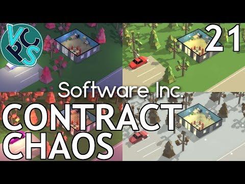 Software Inc EP21: Contract Chaos – Alpha 10, Hard Mode