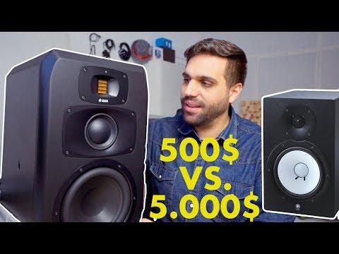 STUDIO SPEAKERS 500$ VS 5.000$