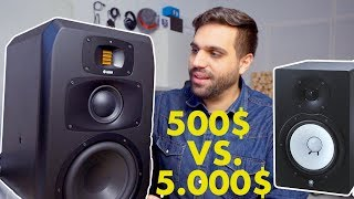 Video STUDIO SPEAKERS 500$ VS 5.000$ download MP3, 3GP, MP4, WEBM, AVI, FLV Agustus 2018