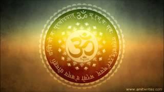 Instrumental  Gayatri Mantra Flute Sitar  Santoor