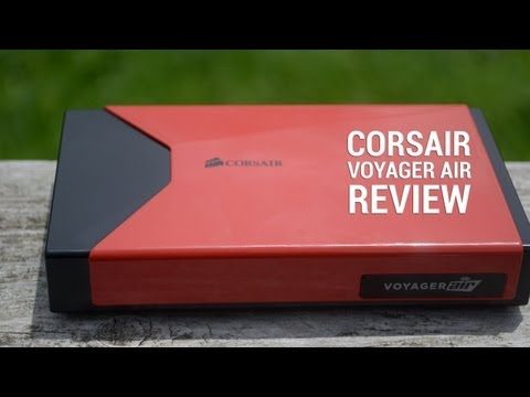 Corsair Voyager Air review (video)