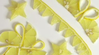 Lemon Garnishes