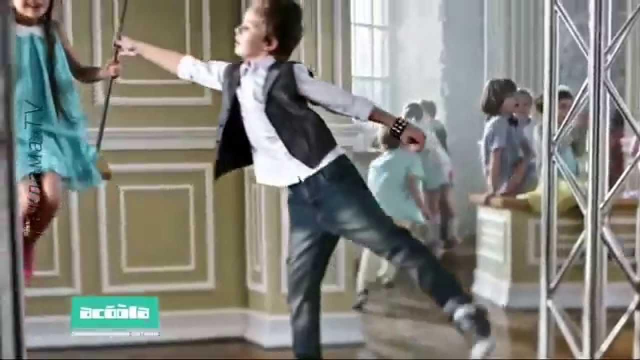 Реклама детская одежда Акула / Acoola / а я красивая ...