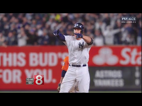 Judge HR sparks NY, Yanks beat Astros 64 to even ALCS at 2