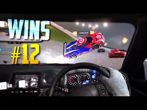 Racing Games WINS Compilation #12 (Close Calls, Drifts, Stunts & Accidental Wins)
