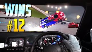 Racing Games WINS Compilation #12 (Close Calls, Drifts, Stunts & Accidental Wins)