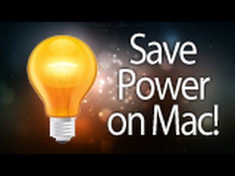 Energy Saver Tutorial for Mac! Automatic shutdown & More (HD)