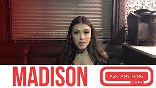 Madison Beer:  Justin Bieber's Help On New Album