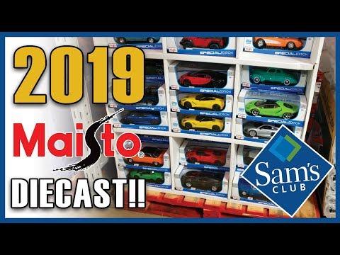 2019 MAISTO 1:18 Diecast Models at SAM'S CLUB