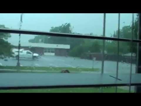 Thunder Storm Warning Broken Arrow, OK May 2015
