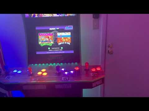 TMNT & NBA Jam Arcade1Up Cabs Customizations (Update) from BlazinAmazin08