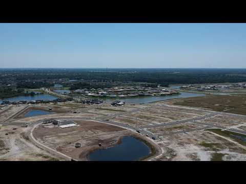 Reeling Park new construction homes for sale | aerial view | Viera, FL