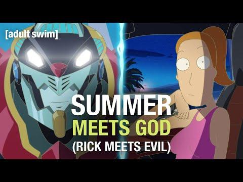 Summer Meets God (Rick Meets Evil) | Rick and Morty | adult swim