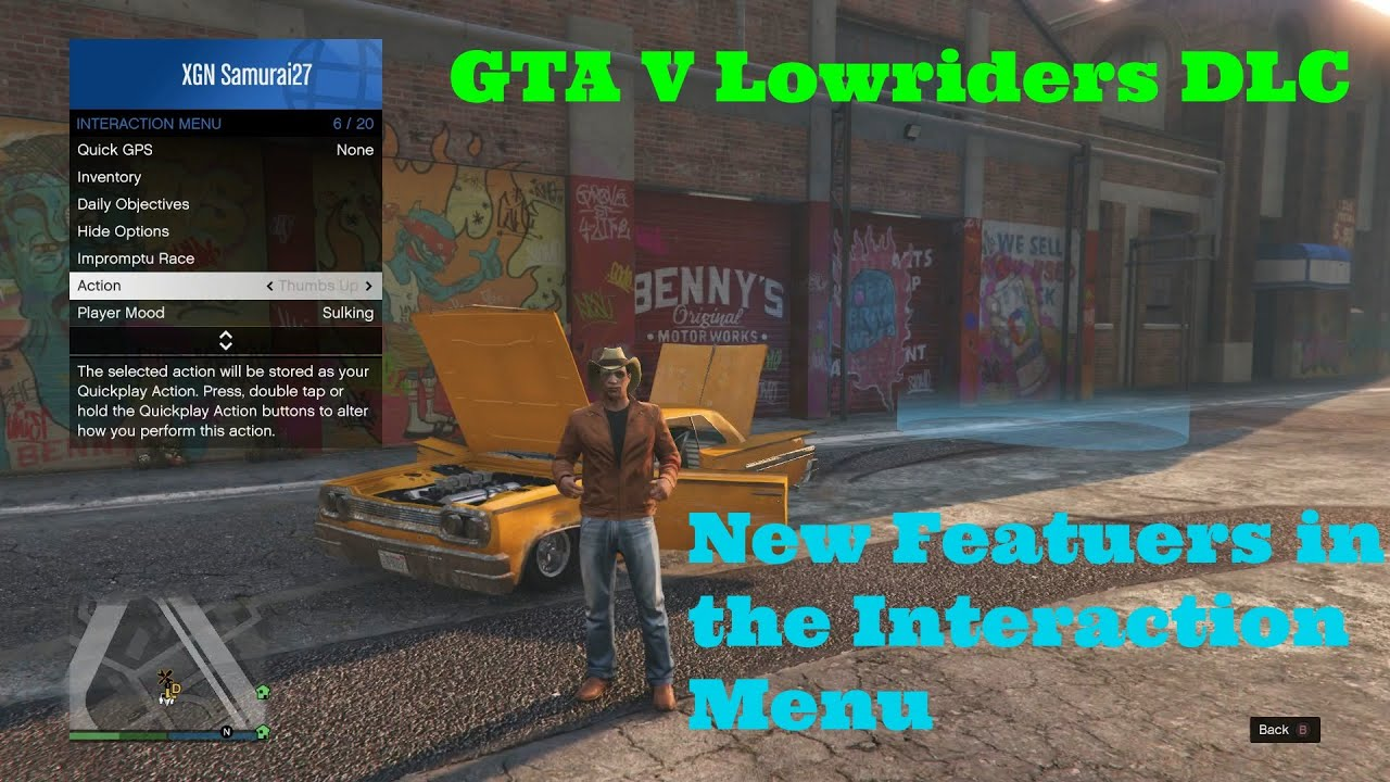 how to go to the interaction menu in gta 5