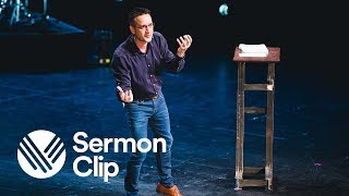 "Sermon Clip: ""We will not defeat hypocrisy by behaviour."""