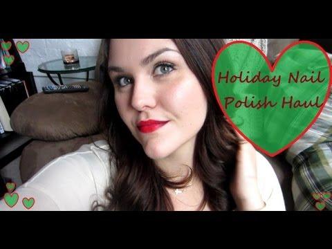 HUGE Holiday Nail Polish Haul!!