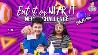 Eat It Or Wear It Challenge || Doraemon Vlogs