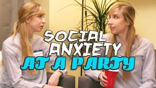 What Social Anxiety Feels Like by : CollegeHumor