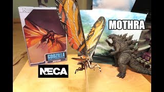 Neca MOTHRA GODZILLA KING OF THE MONSTERS 2019 movie FIGURE toy unboxing & review!