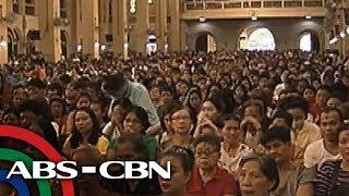TV Patrol: Ash Wednesday: Mga deboto, dagsa sa Baclaran