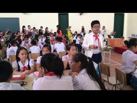Hoạt động ngoài giờ lên lớp - Tiểu học Châu Quỳ - Gia Lâm