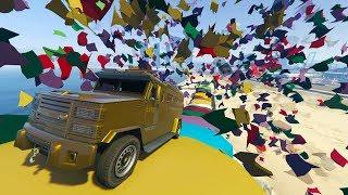 LO EXPLOTO TODO!!! - CARRERA GTA V ONLINE - GTA 5 ONLINE