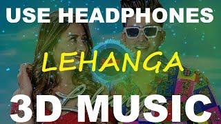 Lehanga   Jass Manak   3D Music World   3D Bass Boosted