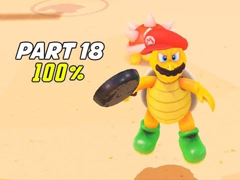 SUPER MARIO ODYSSEY Walkthrough Part 18 - 100% The Stew (Let's Play Commentary)