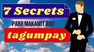 7 Secrets Para Makamit Ang Tagumpay