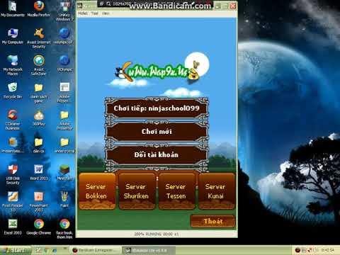 cach hack ninja school online tren may tinh - cach hack ninjaschool pc bang kemulator