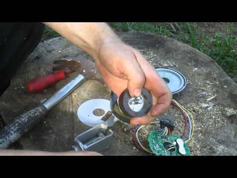 Noisy dc motor on a panasonic ac doovi for Fujitsu mini split fan motor replacement