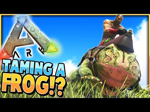 ARK: Survival Evolved | BEELZEBUFO TAMING / TAMING A FROG! | S2Ep22 | (Gameplay)