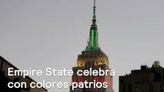 Empire State celebra Día de la Independencia de México - Despierta con Loret