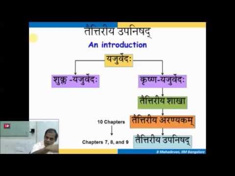 Taittiriya Upanishad Session 03 (Shanti Mantra) Jan 19 2015